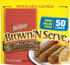 Brown 'n serve original fully cooked sausage links - Produit