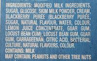 Greek Frozen Yogurt Bars - Ingredients - en