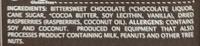 Natural dark chocolate with raspberries - Ingredients