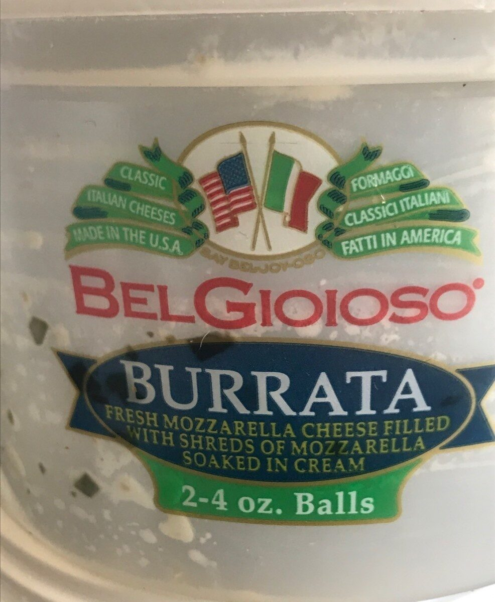 Burrata Cheese - Product - en