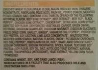 Noodle soup, chicken - Ingrediënten - en
