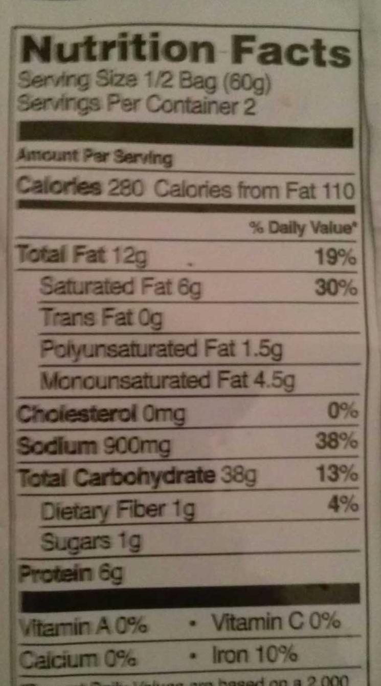 Noodle soup, chicken - Voedingswaarden - en