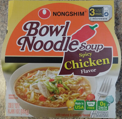 Bowl Noodle Soup, Spicy Chicken - Product - en
