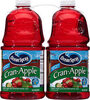Cranberry apple juice drink from concentrate, cran-apple - Product
