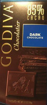 Dark chocolate 85 % - Product