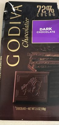Dark chocolate 72% cacao - Product