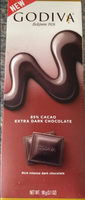 85% Cacao Extra Dark Chocolate - Product
