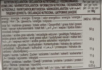 85% Cacao Extra Dark Chocolate - Información nutricional - es