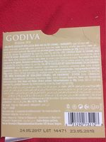 Godiva Chocolate Blond Chocolate Salted Caramel Tablet, 75 - Nutrition facts