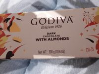 Dark Chocolate with almonds - Product