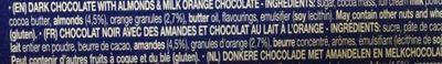Limited Edition Carrés - Ingredients