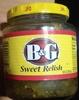 B&g, sweet relish - Product