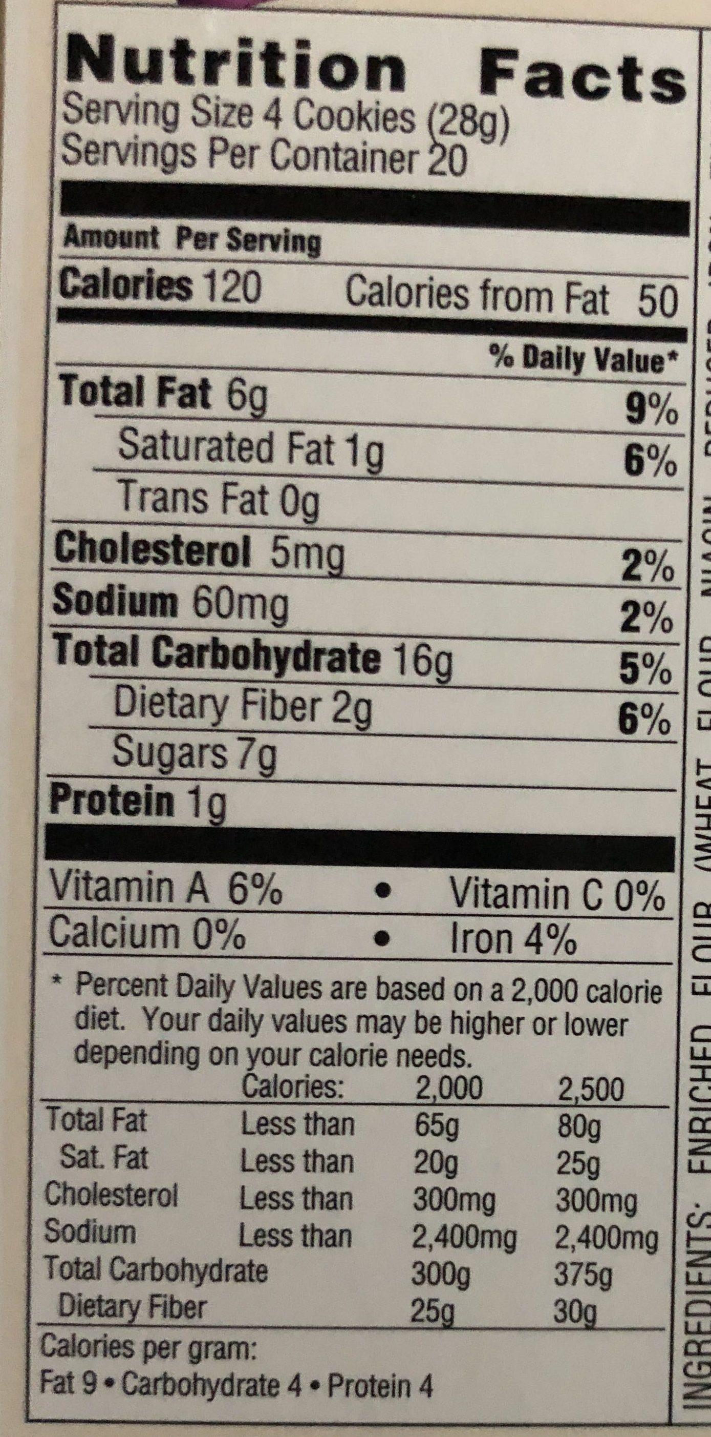 Boysenberry - Nutrition facts - en