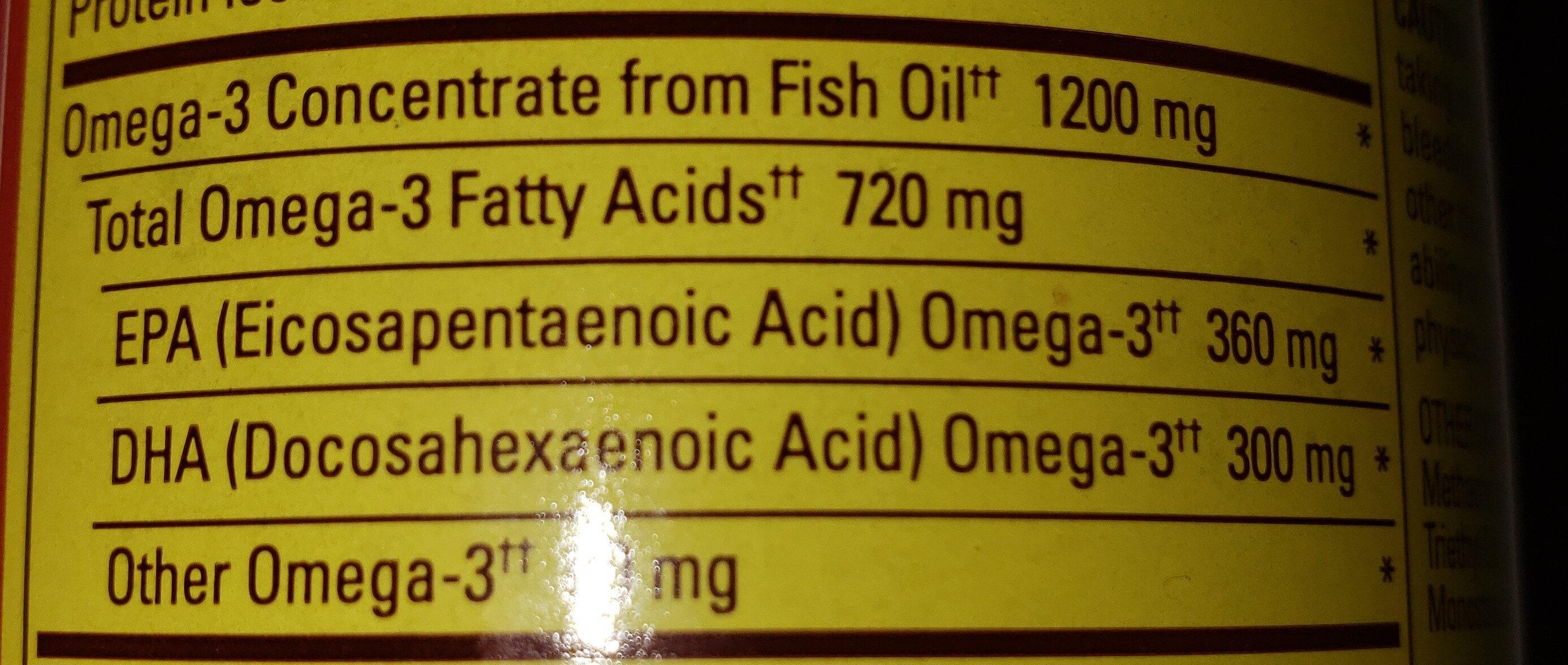 Omega-3 - Ingrédients - fr