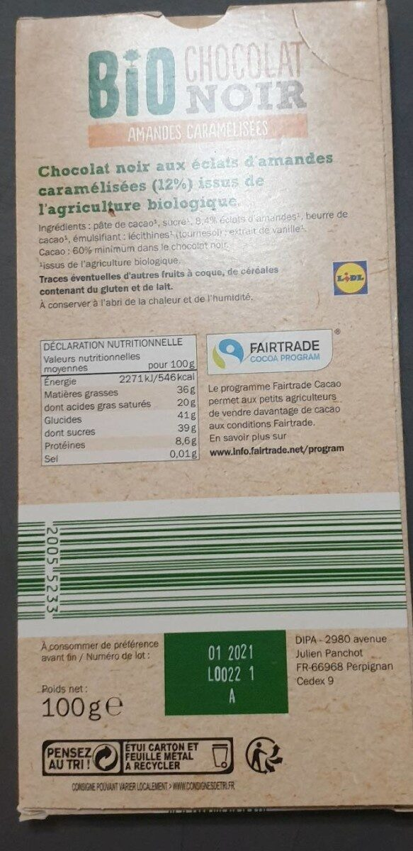 Biscuites danois - Nutrition facts - fr