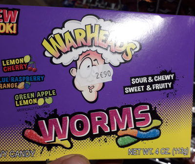 Warheads, Candy Worms - Product
