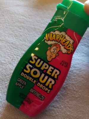 Warheads Super Sour Double Drops Assorted - Product