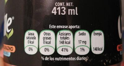Néctar de Durazno - Nutrition facts - es