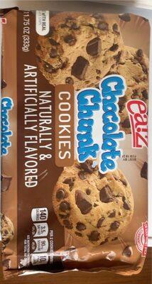 Chocolate chunk cookies, chocolate chunk - Product - en