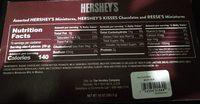 Hershey's Milk Chocolate - Voedingswaarden - en