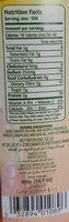 Fèves pelées au piment - Informations nutritionnelles