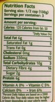 Gulf Food Industries Peeled Fava Beans with Chilli - Informations nutritionnelles - fr