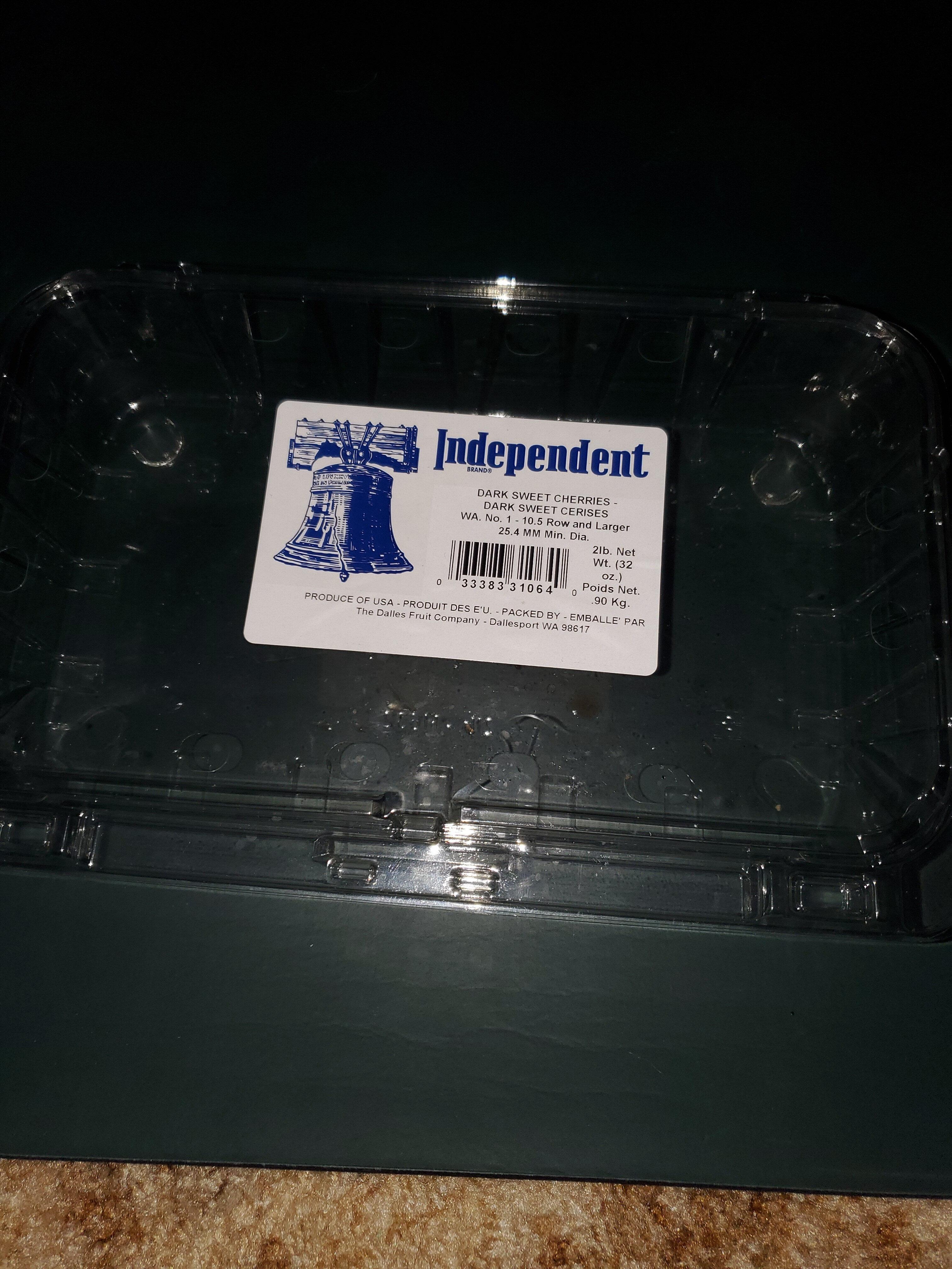 Dark Sweet Cherries - Product