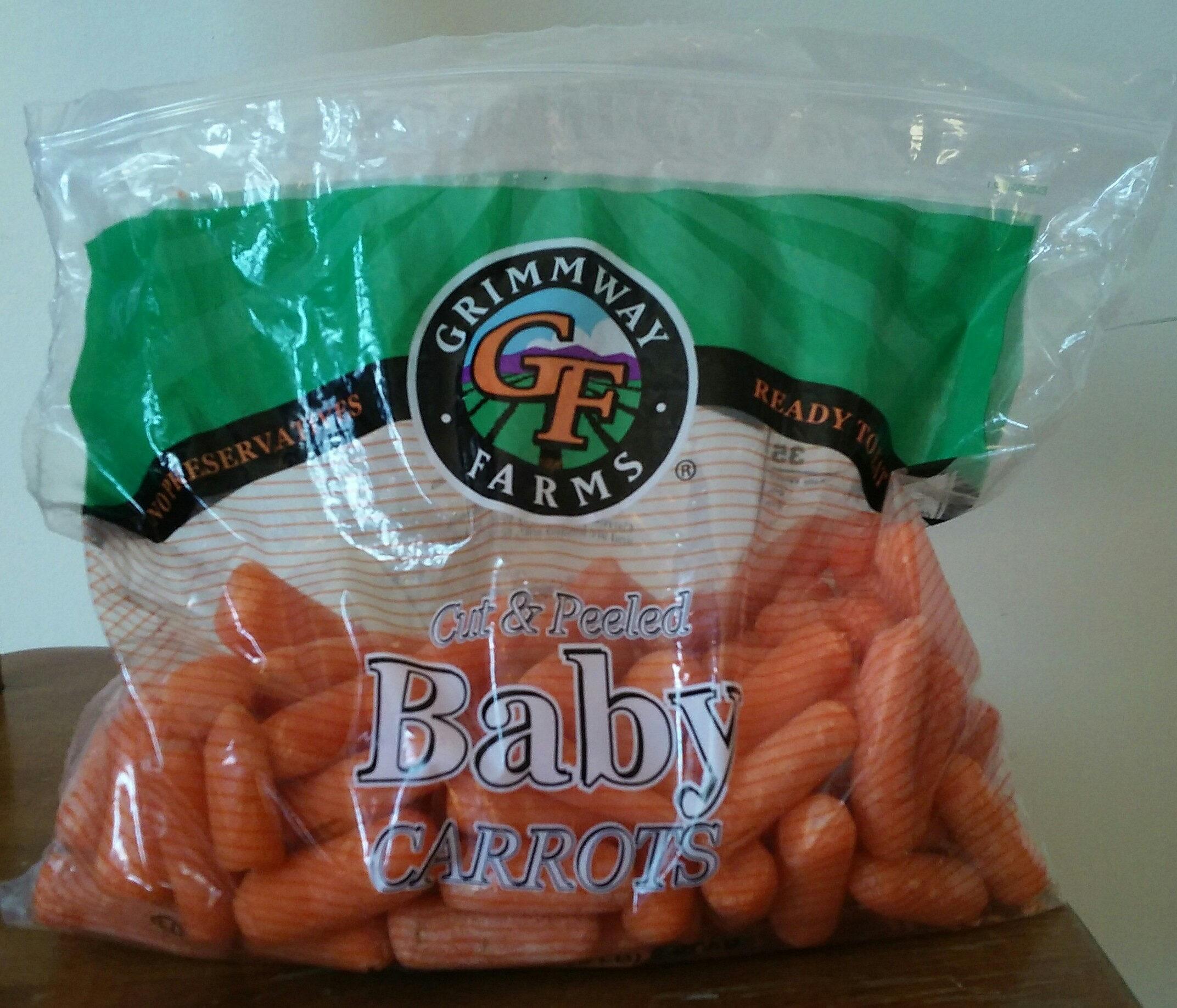 Peeled carrots - Product - en