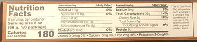 100% whole grain wheat pasta, linguine - Nutrition facts - en