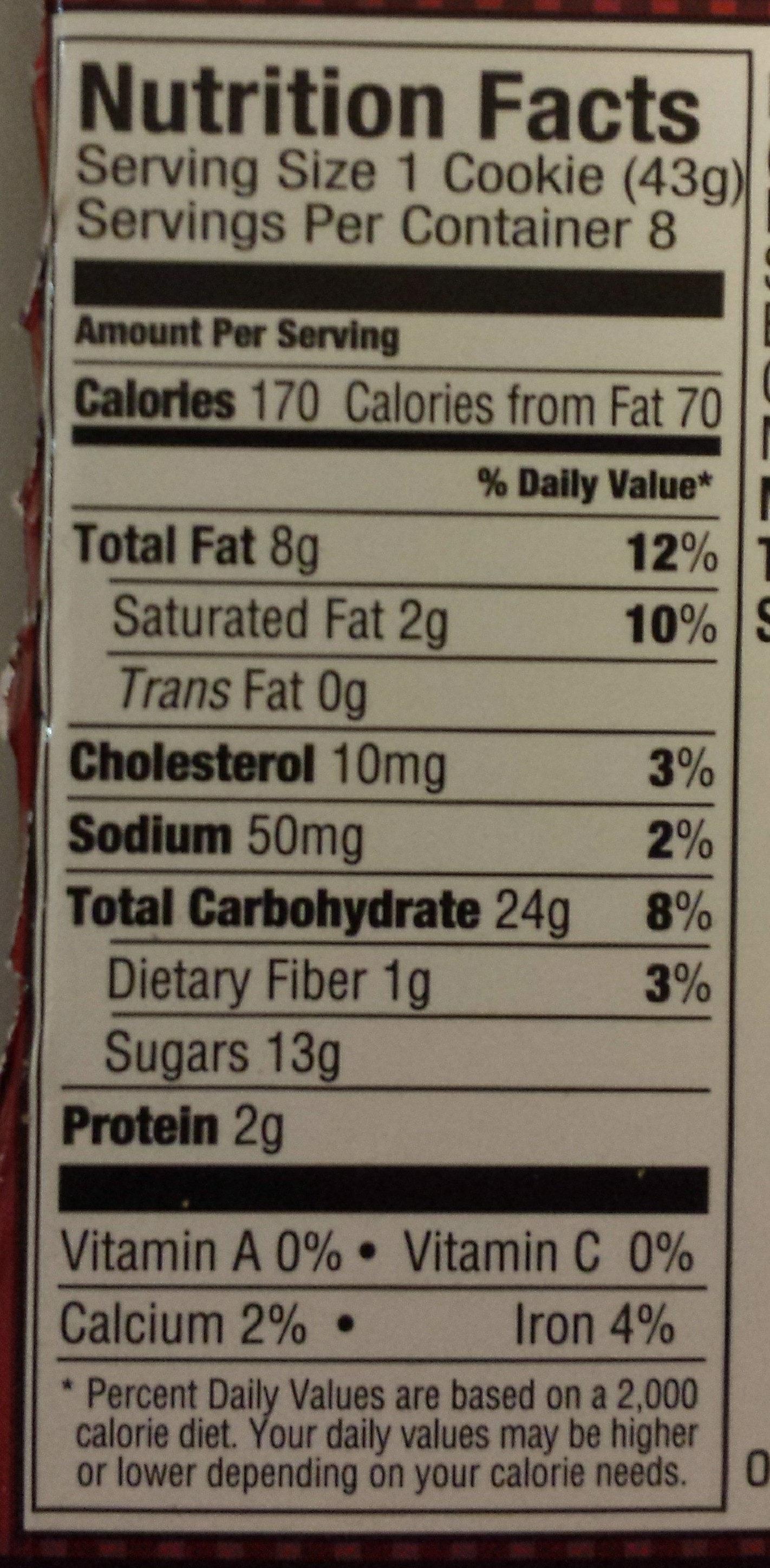 Swirl Danish, Cinnamon - Nutrition facts