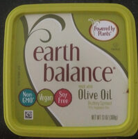 Earth balance, olive oil buttery spread - Product - en