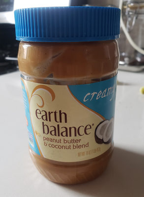 Earth balance, creamy coconut & peanut spread - Product - en