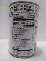 Black Beans - Valori nutrizionali - en