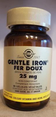 Gentle Iron (Fer Doux) - 90 Gélules - Producto