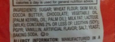 Kit Kat - Ingrédients - en