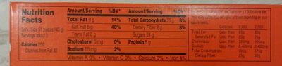 Reese's Pieces - Nutrition facts