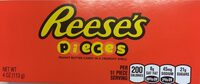 Pieces peanut butter candies - Informations nutritionnelles - fr