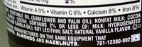 Hershey's Spread Chocolate - Ingredients - en