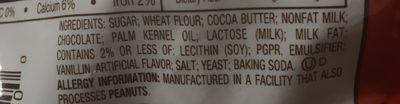 Kit Kat Minis Crisp Wafers In Milk Chocolate, 8 Oz - Ingrédients