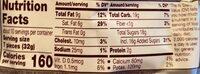 Milk chocolate candy - Informations nutritionnelles - en