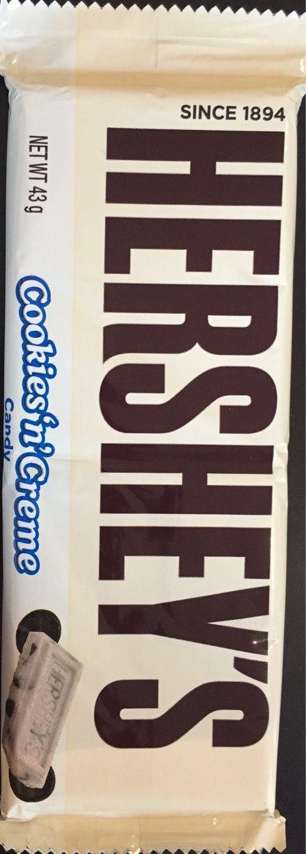 Cookies 'n' Creme Candy Bar - Produit - fr