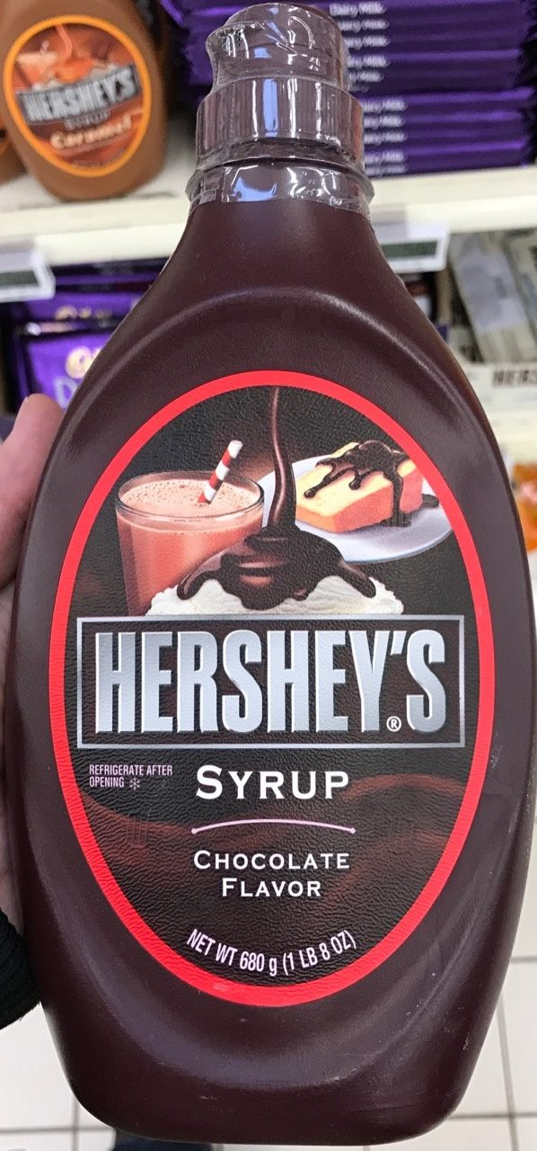 Syrup Chocolate Flavor - Product