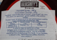 Syrup Chocolate Flavor - Ingredients