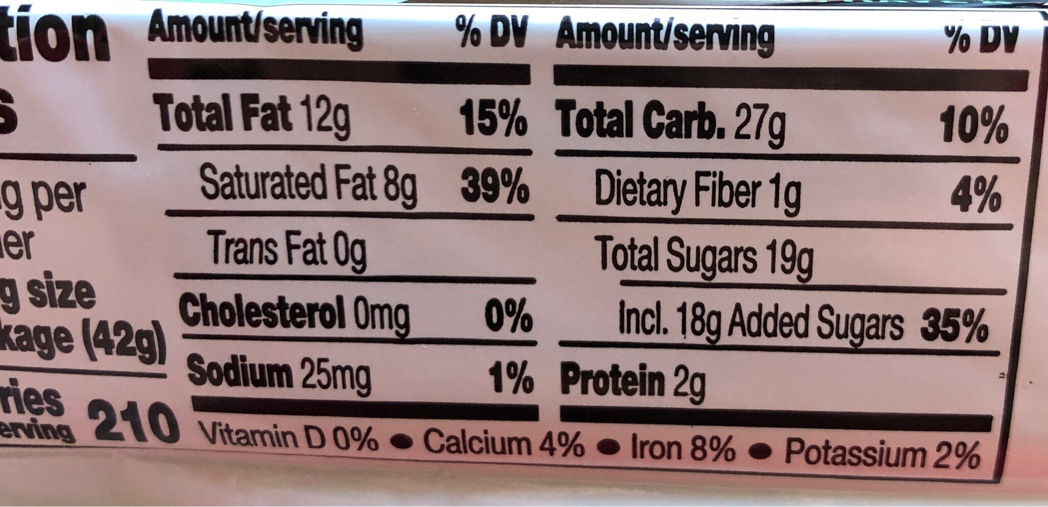 Kit kat duo dark chocolate mint chocolate bar - Nutrition facts - en