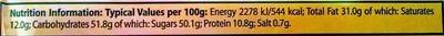 Peanut Butter Cups 3 Pack - Informations nutritionnelles - fr