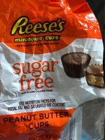 Reese's Peanut Butter Cups Miniatures Sugar Free - Product