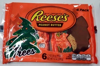 Milk chocolate trees, peanut butter - Product