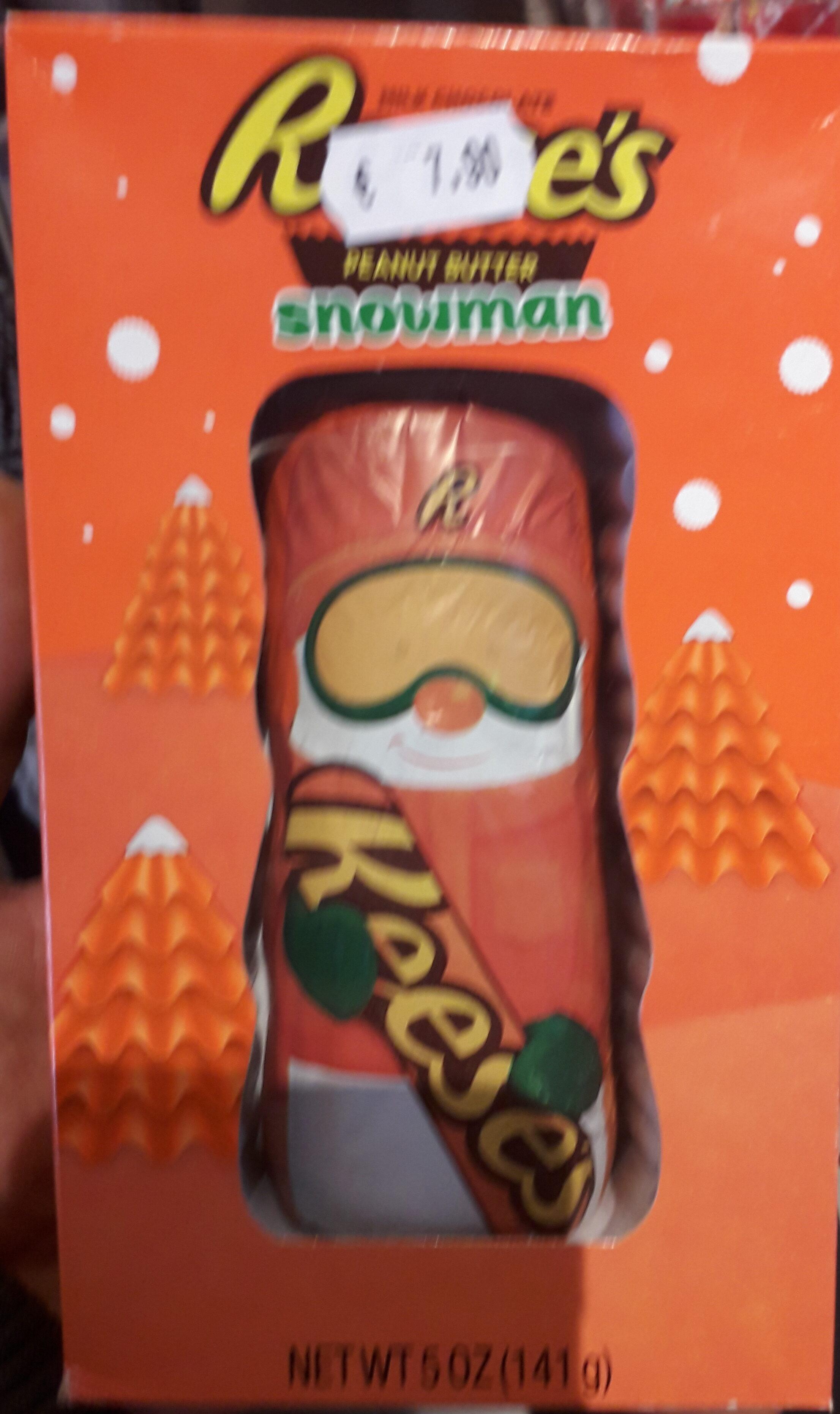 Reese's Milk chocolate peanut butter snowman - Produit - fr