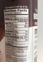 Hershey's Chocolate Milk - Nutrition facts - en