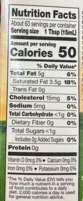 Heavy Whipping Cream - Nutrition facts - en